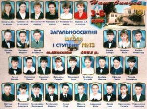 2002-2003 Чернишова Н.Г.